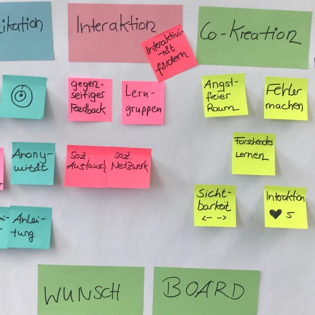 Innovations-workshop-wunschboard